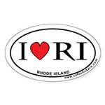 I Love Rhode Island Sticker