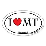 I Love Montana Sticker
