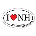 I Love New Hampshire Sticker