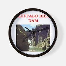 BUFFALOBILL.png Wall Clock