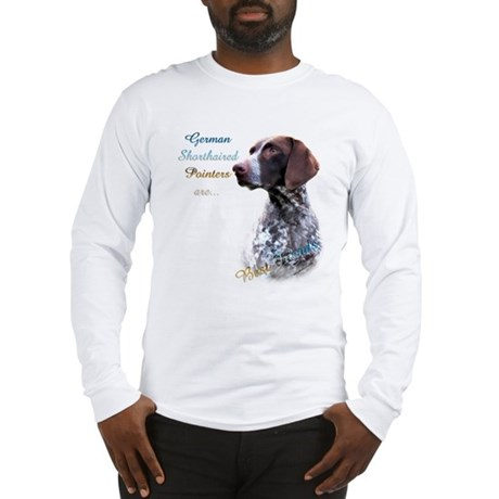 German Shorthaired Best Friend Long Sleeve T-Shirt