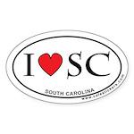 I Love South Carolina Sticker