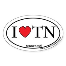 I Love Tennessee Decal