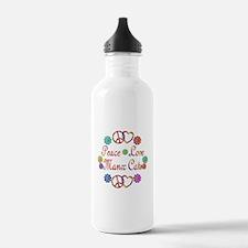 Manx Cats Water Bottle