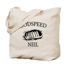 Godspeed Neil Armstrong Tribute Tote Bag