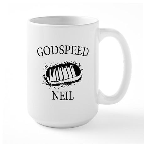 Godspeed Neil Armstrong Tribute Large Mug