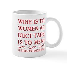 WINE IS FUSCHIA.png Small Mug