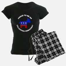 Oklahoma Democrat Pride Pajamas