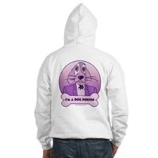 I'm a Dog Person - Purples Hoodie