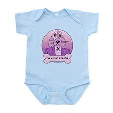 I'm a Dog Person - Purples Infant Bodysuit