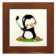 I Like Golf (2) Framed Tile