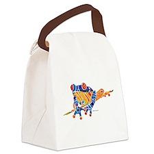 Cute Tattoo lovers Canvas Lunch Bag