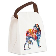 Borzoi1-4Dark.png Canvas Lunch Bag