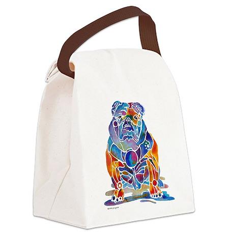 EngBulldog.jpg Canvas Lunch Bag