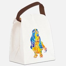 Bassett Hound Gifts Canvas Lunch Bag