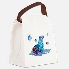 SaltySeal4Cafe.jpg Canvas Lunch Bag