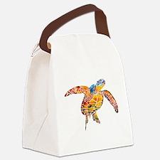 SeaTurtle.jpg Canvas Lunch Bag