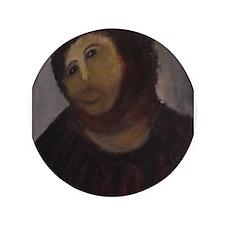 """Ecce Homo 3.5"""" Button"""