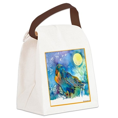 Raven30B.png Canvas Lunch Bag