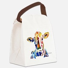 cow4Cafe.png Canvas Lunch Bag