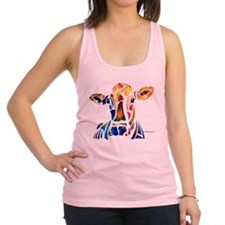cow4Cafe.png Racerback Tank Top