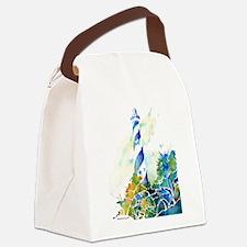 HatterasCafe.jpg Canvas Lunch Bag