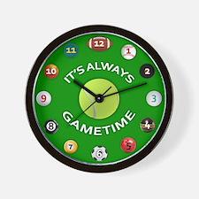 Gametime Clock - Tennis Wall Clock