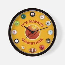 Gametime Clock - Basketball Wall Clock
