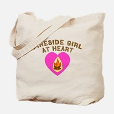Fireside Girl at Heart.png Tote Bag