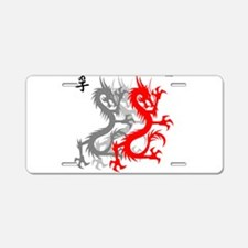 OYOOS Dragon design Aluminum License Plate