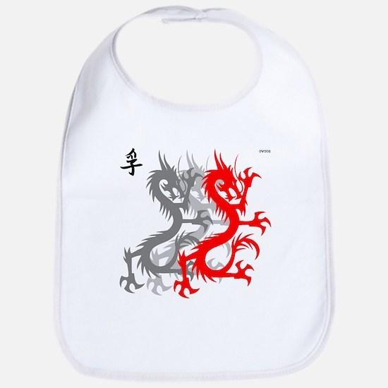 OYOOS Dragon design Bib