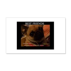 """Best Friends"" Wall Decal Wall Decal"