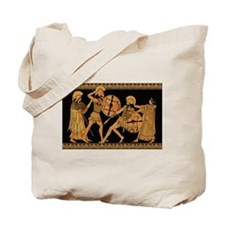 Achilles Slaying Hector Tote Bag