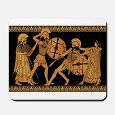 Achilles Slaying Hector Mousepad