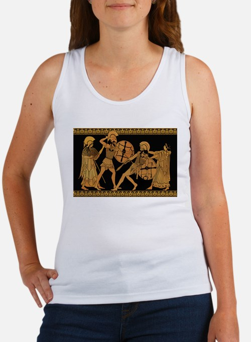 Achilles Slaying Hector Women's Tank Top