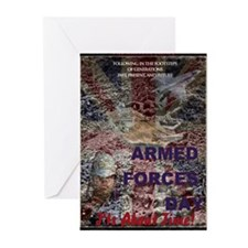 UK Armed Forces Day Greeting Cards (Pk of 10)