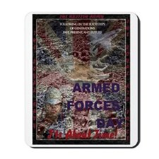 UK Armed Forces Day Mousepad