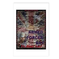 UK Armed Forces Day Postcards (Package of 8)