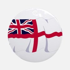 Royal Navy Poster Ornament (Round)