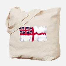 Royal Navy Poster Tote Bag