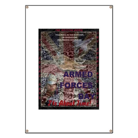 UK Armed Forces Day Banner