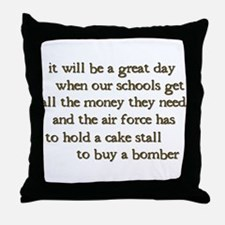 It Will Be A Great Day Throw Pillow