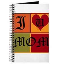 OYOOS I Love Mom design Journal