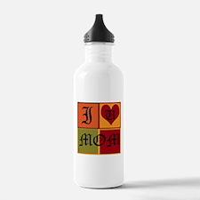 OYOOS I Love Mom design Water Bottle