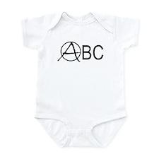 Anarchy ABC's Funny Baby Bodysuit