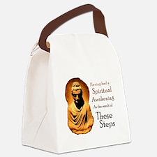 A Spiritual Awakening Canvas Lunch Bag
