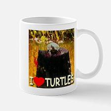 I Love Turtles Mug