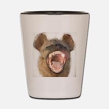 Spotted Hyena Shot Glass