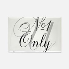 OYOOS No1 Only design Rectangle Magnet