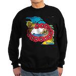 OYOOS Travel Vacation design Sweatshirt (dark)